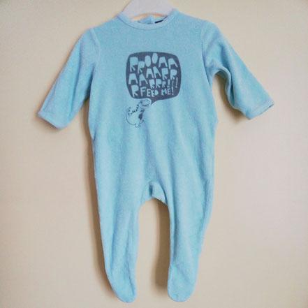 Pyjama en velours pas cher garçon 6 mois