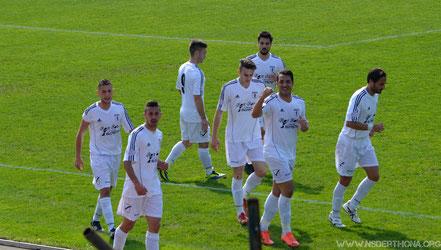 2013-14 Derthona-Chiavari Caperana Esultanza dell'1-0