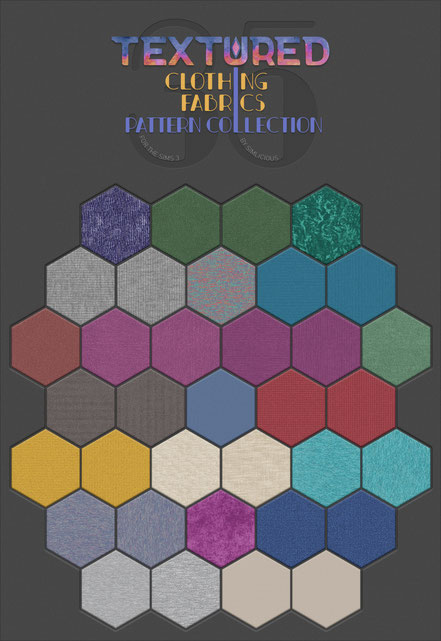 Textured Fabrics Pattern Collection