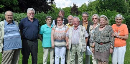 Der Vorstand des SoVD Ahrensburg