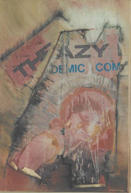 Crazy / Öl auf Leinwand / 40 x 30 cm