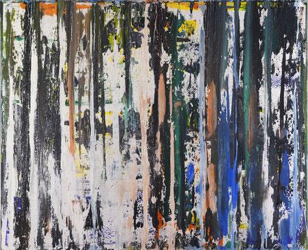 Geistige Welten 2 / Acryl auf Leinwand / 100 x 120 cm