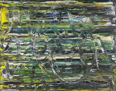 Dschungel / Acryl auf Leinwand / 80 x 100 cm