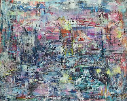 Mystik / Acryl auf Leinwand / 80 x 100 cm