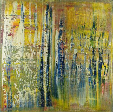 Apokalypse / Acryl auf Leinwand / 70 x 70 cm