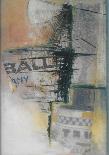 Ballet / Öl auf Leinwand / 40 x 30 cm
