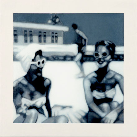 Memory-Box 02 | Öl auf Leinwand | 40 x 40 cm