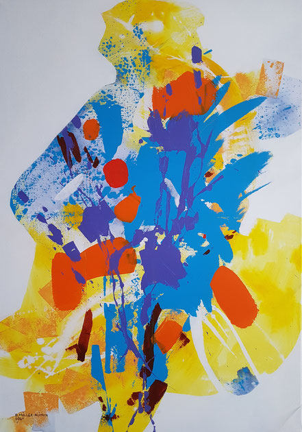 Change / Acryl auf Leinwand / 100 x 70 cm