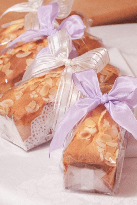 gateau aux amandes  アーモンドケーキ
