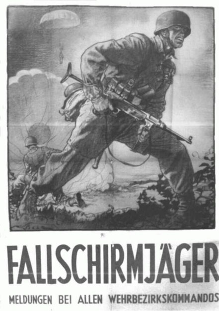 Les parachutistes se forgent rapidement une réputation terrifiante en ce début de la 2e guerre mondiale