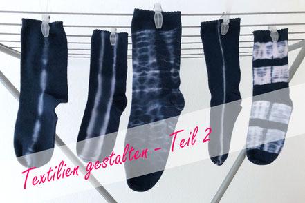 Shibori-Soken selber färben