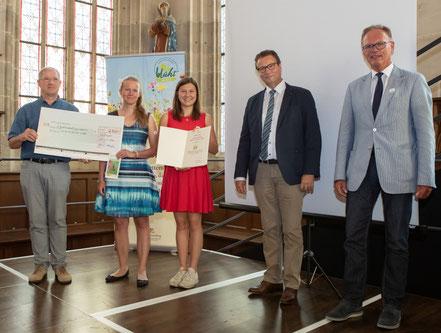 "Verleihung des Preises ""BW blüht"" 2020 (Foto: MLR - Andreas Essig)"