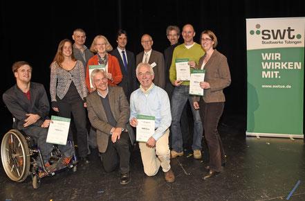 Verleihung Umweltpreis der Stadtwerke Tübingen (G. de Maddalena)
