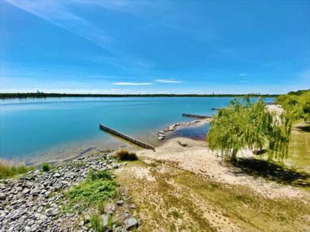 Segway Fahrt zum Markkleeberger See