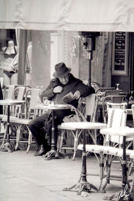Un matin dans le Marais, Paris, France
