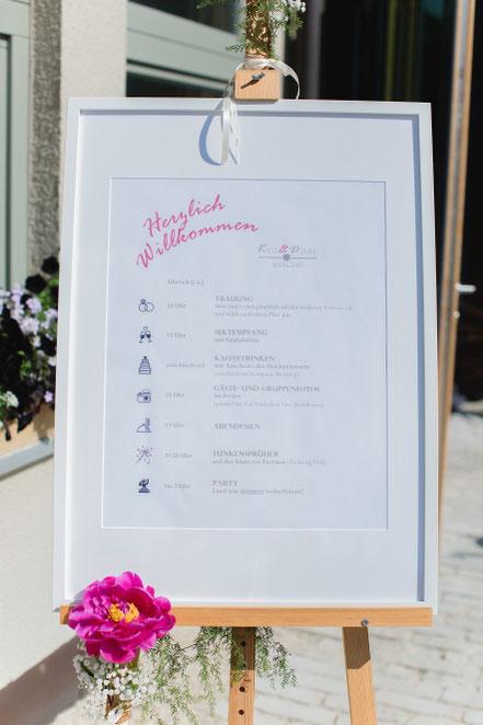 Hochzeit einfach schön