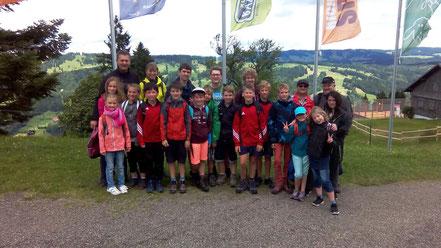 Jungmusikantenausflug 2017 zum AlpseeCoaster nach Immenstadt