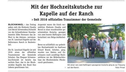 Hochzeit auf der Ballermann Ranch