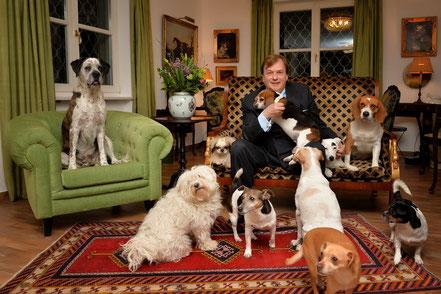 Michael Aufhauser - Gründer des Tierparadies GUT AIDERBICHL - Heimat der geretteten Tiere!
