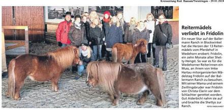 Kreiszeitung Red. Bassum/Twistringen, 29.01.2019