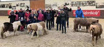 Gäste aus Norddeutschland bei Annette u. André Engelhardt auf der Ballermann Ranch