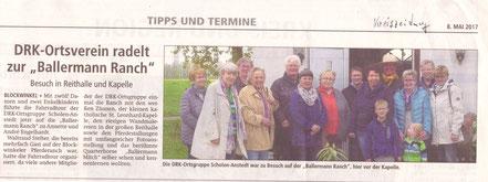 Ballermann Ranch - annette Engelhardt und DRK Ortsverein Scholen-Anstedt