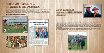 Annette u. Andre Engelhardt und Freunde der Ballermann Ranch in Blockwinkel (Niedersachsen)