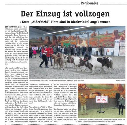 Gut Aiderbichl ist da! Die BALLERMANN RANCH ist die neue Heimat der geretteten Tiere in Niedersachsen