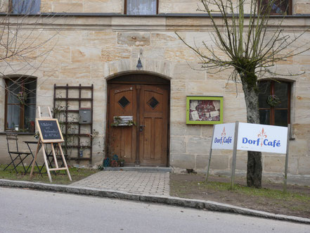 Dorfcafe in Simonshofeb
