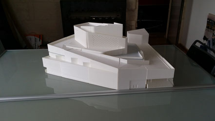 Impression 3d Bordeaux par KOX 3D