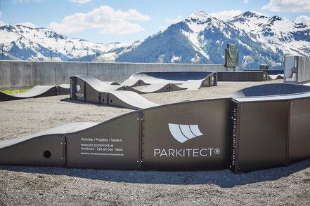 Der M0DULAR Pumptrack by PARKITECT AG kommt ab Ende Juni 2017 in der Familienarena in St. Corona am Wechsel zu euch.