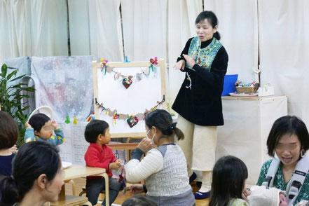クリスマスの制作に使ったキットは、美術担当の勝馬先生がオリジナルで制作したものです。