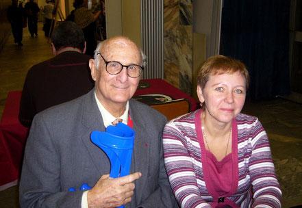 С проф. Жаном Жаком Шено (Германия) на конгрессе в Санкт-Петербурге, 2008 г.