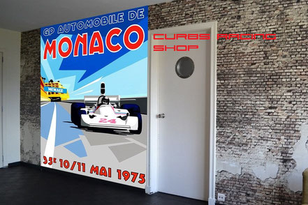 Formel 1 Monaco Wallpaper / Tapete
