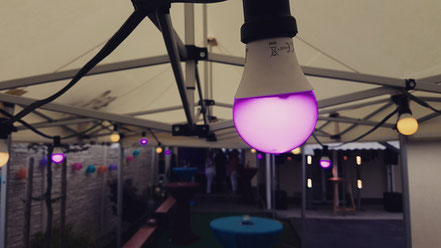 LED Lichterkette mt Farbwechsel