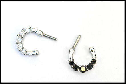 Clickers Septum avec Strass