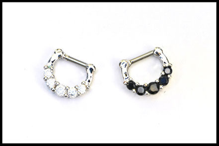 Bijoux Septum ave Strass