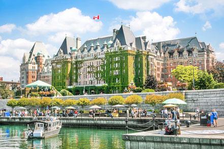 Inner Harbour of Victoria BC Canada