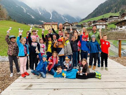 Dorfcup Gesamtwertung Preisverteilung 10.4.2019