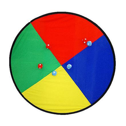 Méga cible géante avec balles velcro au meilleur prix! Cible de grand diamètre 1,50 mètres.