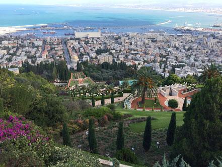 Die hängenden Gärten der Baha'i