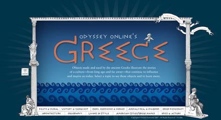 Allerlei Wissenswertes über die Griechen auf Englisch