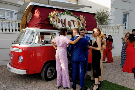 Photobooth Campervan VW