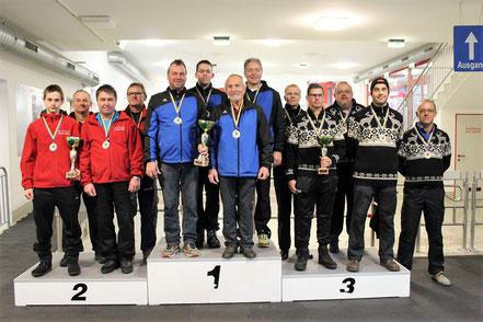 2. ESV Frankenfels, 1. SG KW Sport Kirchberg/Union Rabenstein, 3. SV Weikertschlag/Oberndorf