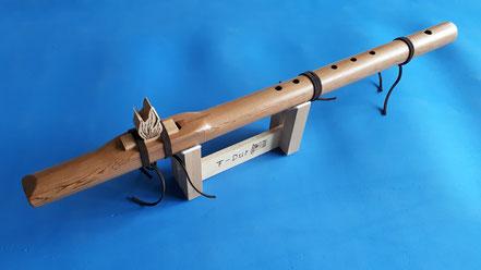Flöte, Native American Flute, Zedernholz, F-Dur