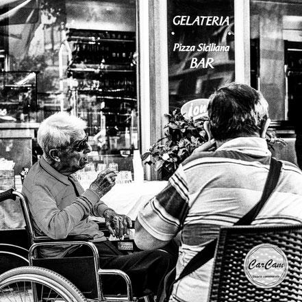 Sicile, sicilia, trinacria, old, art, catania, italie, art, travel, noir et blanc, black and white, street photography, carcam, je shoote