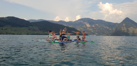 SUP Pilates im SUPoint Buochs