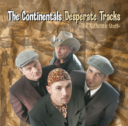 The Continentals, CD, Desperate Tracks