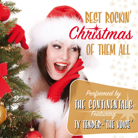The Continentals, CD, Best Rockin' Christmas Of Them All