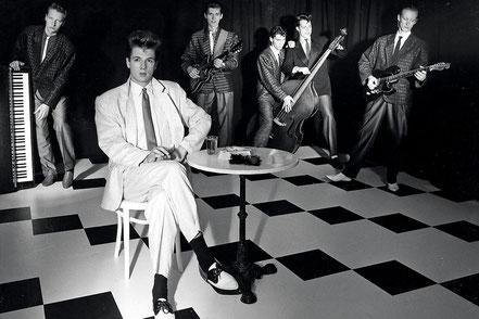 Foto: The Continentals 1986